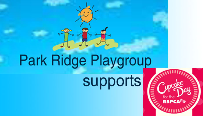 Park Ridge Playgroup Supports RSPCA Cupcake Day