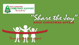 Knox Community Christmas Support Appeal – Share the Joy